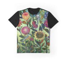 Garden Santuary Graphic T-Shirt