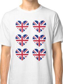 Union Jack Heart Classic T-Shirt