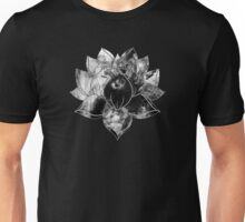 Black Smoke Lotus Unisex T-Shirt