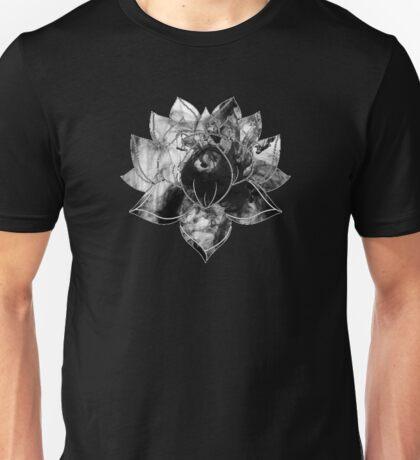 Black Smoke Lotus Unisex T-Shirt