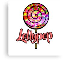 Lollypop  Canvas Print