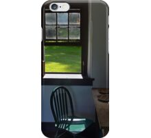A Chair by a Window iPhone Case/Skin