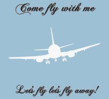 Let's Fly Kids Tee