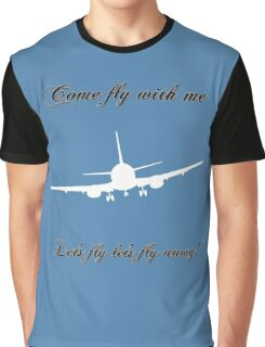 Let's Fly Graphic T-Shirt