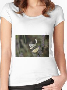 Love  Papillons - Butterfly  16 (t)  Okaio Création  Panasonic fz 1000   510.000 photos 2016 Women's Fitted Scoop T-Shirt