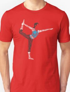 Wii Fit Trainer Typography Unisex T-Shirt