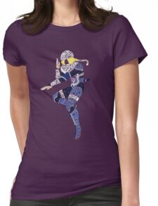 Sheik Typography Womens Fitted T-Shirt