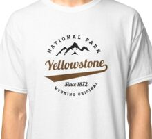 YELLOWSTONE NATIONAL PARK WYOMING MOUNTAINS HIKING CAMPING HIKE CAMP 7 Classic T-Shirt