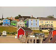 Farbenpracht Lunenburg in Nova Scotia Kanada Photographic Print