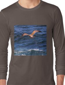 Soaring Over the Pacific Long Sleeve T-Shirt