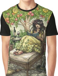 Everyday Witch Tarot - Nine of Pentacles Graphic T-Shirt