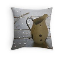 pitcher in jail Throw Pillow