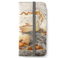 Whispers in the Pumpkin Patch iPhone Wallet/Case/Skin