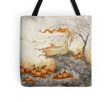 Whispers in the Pumpkin Patch Tote Bag