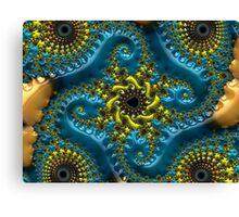 Colorful Fractal Canvas Print