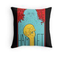 Hamlet Throw Pillow