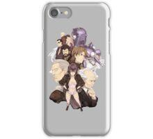 Section 9 Anime Manga Shirt iPhone Case/Skin