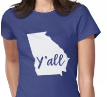 Y'all Georgia Womens Fitted T-Shirt
