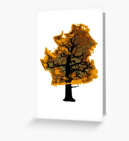 fire Greeting Card