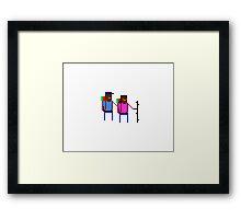 Hiker Couple #3 Framed Print