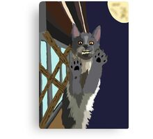 Were-Kitty Canvas Print