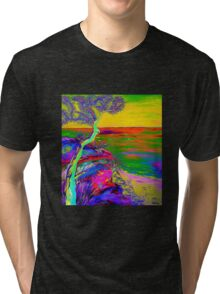 Looking out the sea-2 Tri-blend T-Shirt