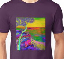 Looking out the sea-2 Unisex T-Shirt
