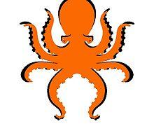 BOO Big Orange Octopus Donald Trump by Edward Fielding