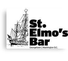 St. Elmos Bar Canvas Print