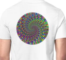 Whirlpool, Human, Cooperation, Vortex, Worm Hole, Prismatic,  Unisex T-Shirt