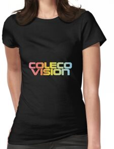 ColecoVision logo Womens Fitted T-Shirt