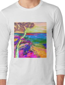 Looking out to sea. Long Sleeve T-Shirt