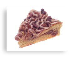 Danish Dessert Pastry Canvas Print