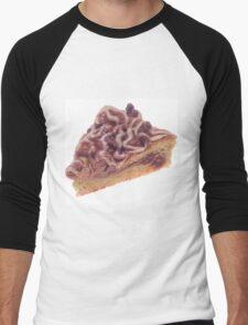Danish Dessert Pastry Men's Baseball ¾ T-Shirt