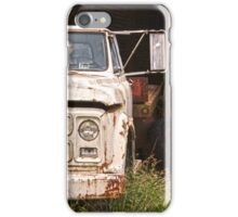 The End of the Road for this Old Truck iPhone Case/Skin