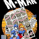 Uncanny M-Man by coinbox tees