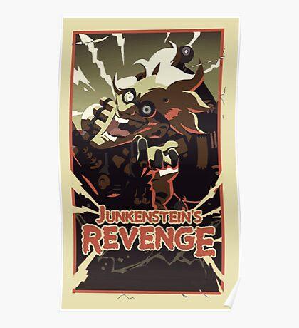 Junkensteins revenge Poster
