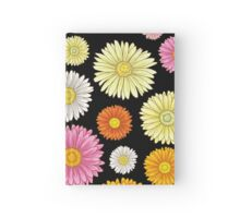Pink and Yellow Daisy Pattern Hardcover Journal