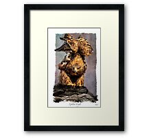Prepare to Launch Framed Print