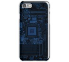Mobo in action iPhone Case/Skin