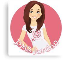 PMS Jordan Canvas Print