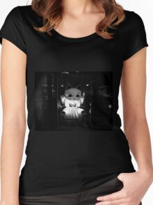 Trapped Women's Fitted Scoop T-Shirt
