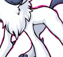 Absol : Here Comes Trouble Sticker