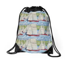 The Dingy Race Drawstring Bag