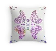 Two Souls One Heart Throw Pillow