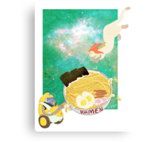 See you in Ramen Baby Canvas Print