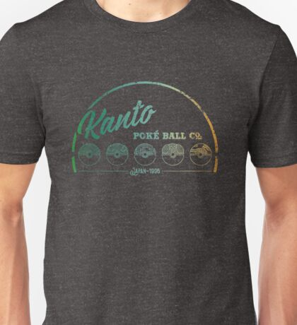 Green Kanto Poké Ball Company Unisex T-Shirt