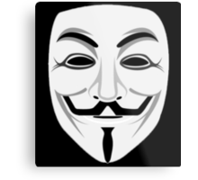 Guy Fawkes Metal Print