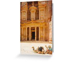 Petra / Jordan III Greeting Card
