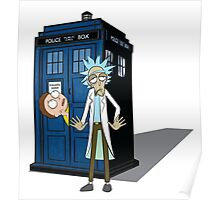 Rick and Morty -  Dr who Poster